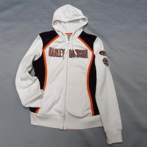 Harley-Davidson Women's Zip Front Hoodie XL